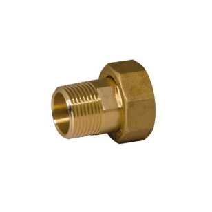 Nut and tailpiece with ISO 228 male thread