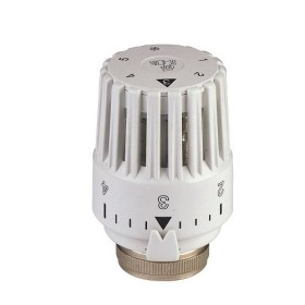 Thermostatic head with liquid sensor