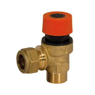 Compression safety valve