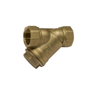 Heavy strainer valve PN20, inspection plug, s/steel filter