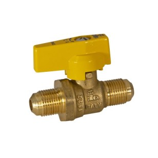 FLARE gas ball valve with aluminum lever handle