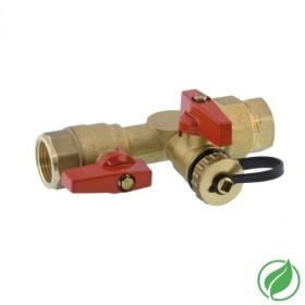 Tankless isolation valves FxF NPT