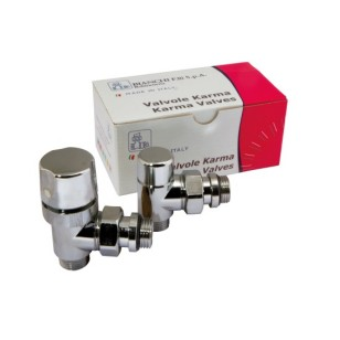 KARMA Angle thermostatic kit for copper, multilayer and Pex pipe