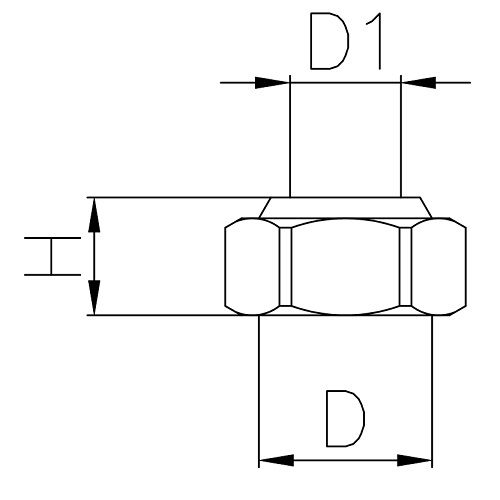 Datasheet - female-female reducer for manifold