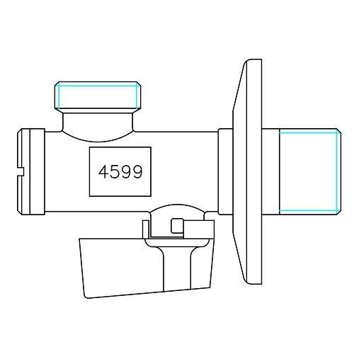 Datasheet - Ball angle valve with filter