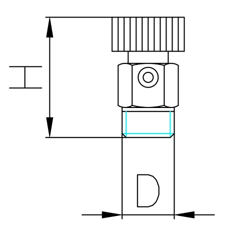 Datasheet - Air discharge valve with plastic handle