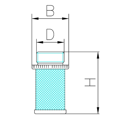 Datasheet - Filter for brass check valve