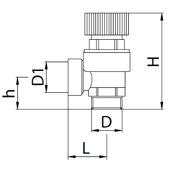 Datasheet - Compression safety valve