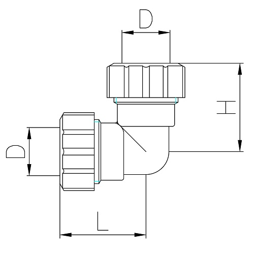 Scheda tecnica - Double curved pipe fitting