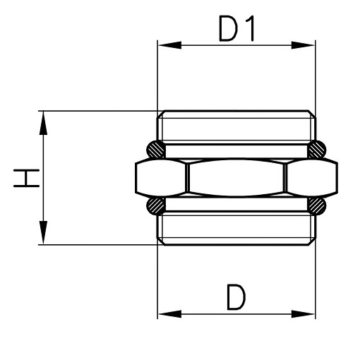 Datasheet - Nipple with OR