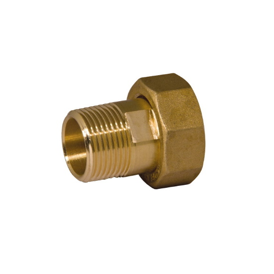 Nut and tailpiece with NPT male thread