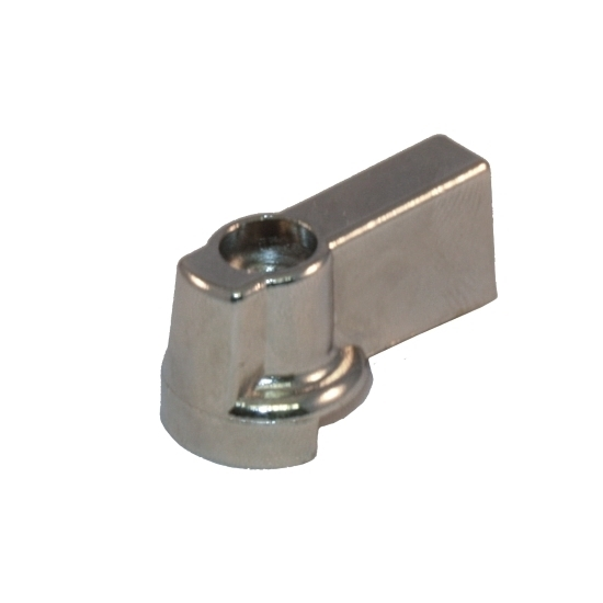 Zinc alloy handle for undersink valve