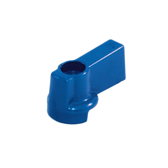 Handle for ball valve manifold