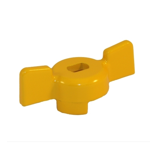 Butterfly handle for ball valves