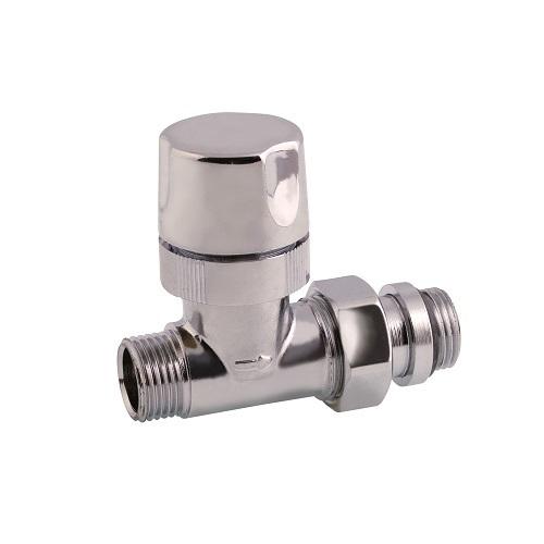Valvola diritta termostatizzabile attacco tubo rame for Linee d acqua pex vs rame