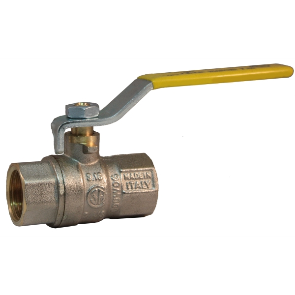 FF heavy full bore gas ball valve with iron lever handle