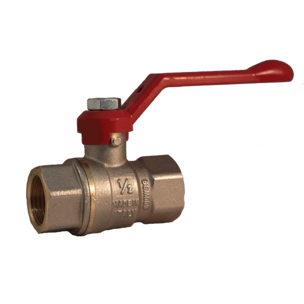 FF full bore ball valve PN 40 with lever handle