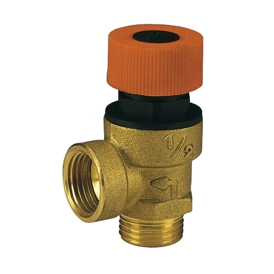 Safety valve, male connection