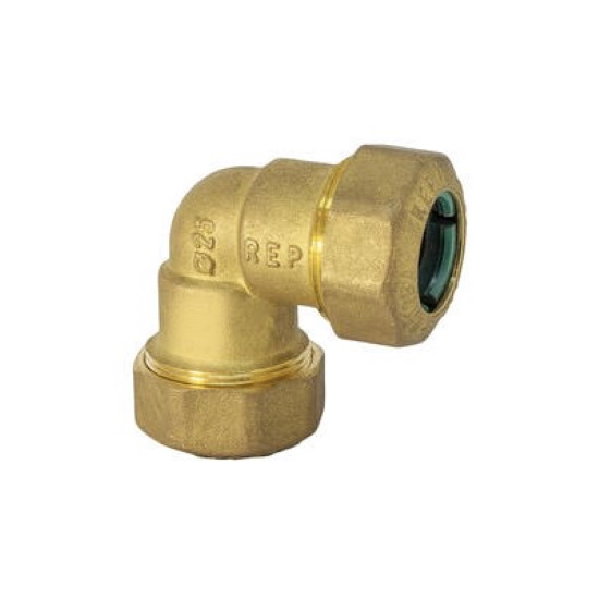 Double curved pipe fitting
